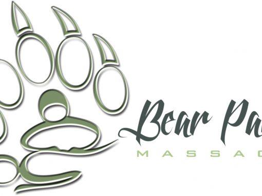 Bear Paws Massage – Logo Design