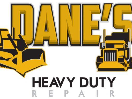 Dane's Heavy Duty Repair – Logo Design