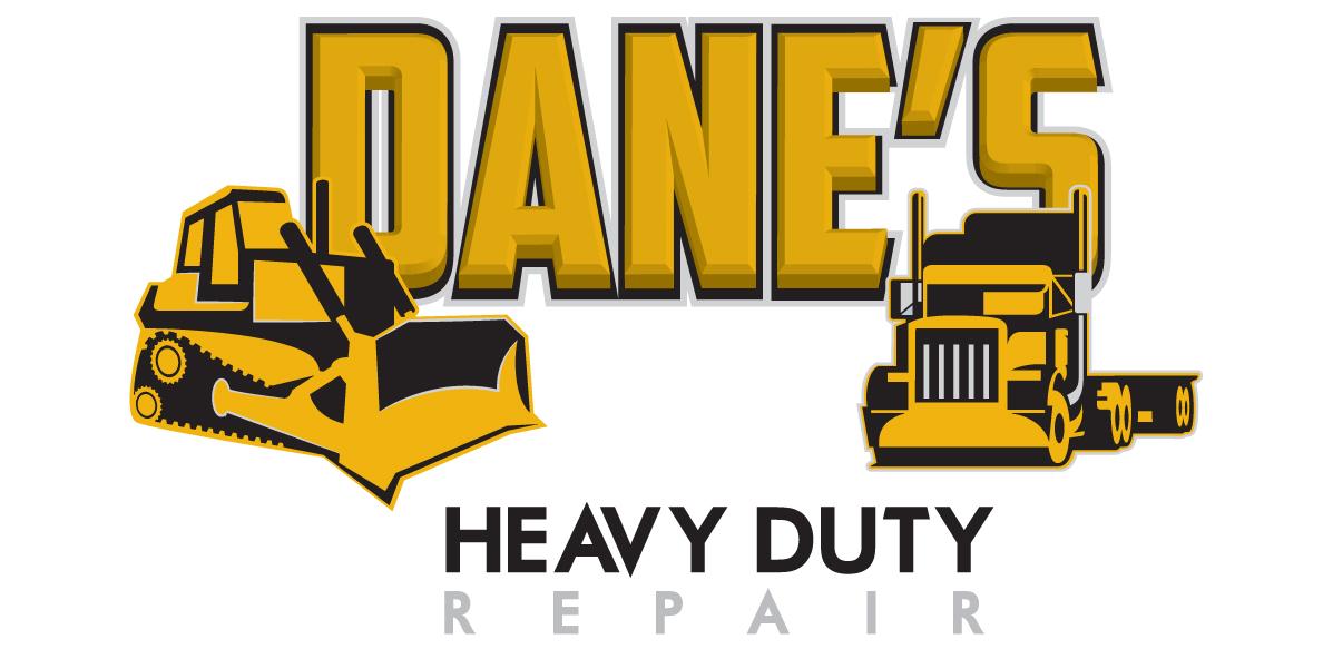 logo design dane s heavy duty repair arktos graphics design rh arktosgraphics com heavy equipment logo vector heavy equipment logistics miami