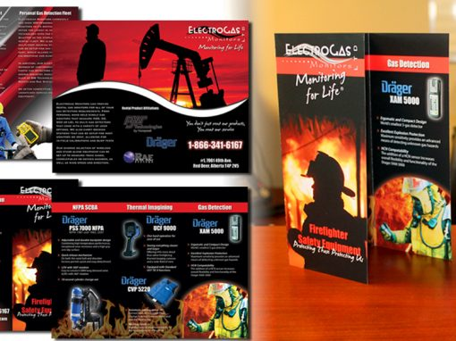 Electrogas Monitors – Brochure Design