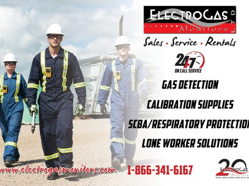 Electrogas Monitors – Magazine Ad