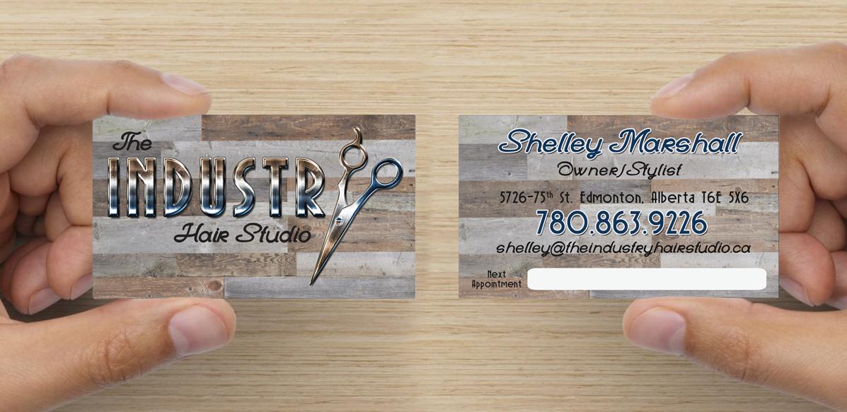 The_Inudstry_Hair_Studio_Branding_Business_Cards_Arktos_Graphics