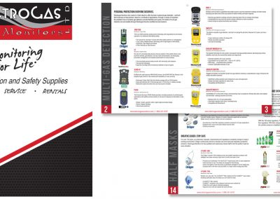 Electrogas Printed Product Catalogue