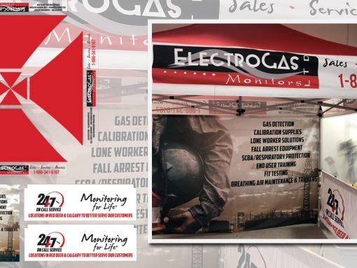 Electrogas Monitors Tradeshow Tent