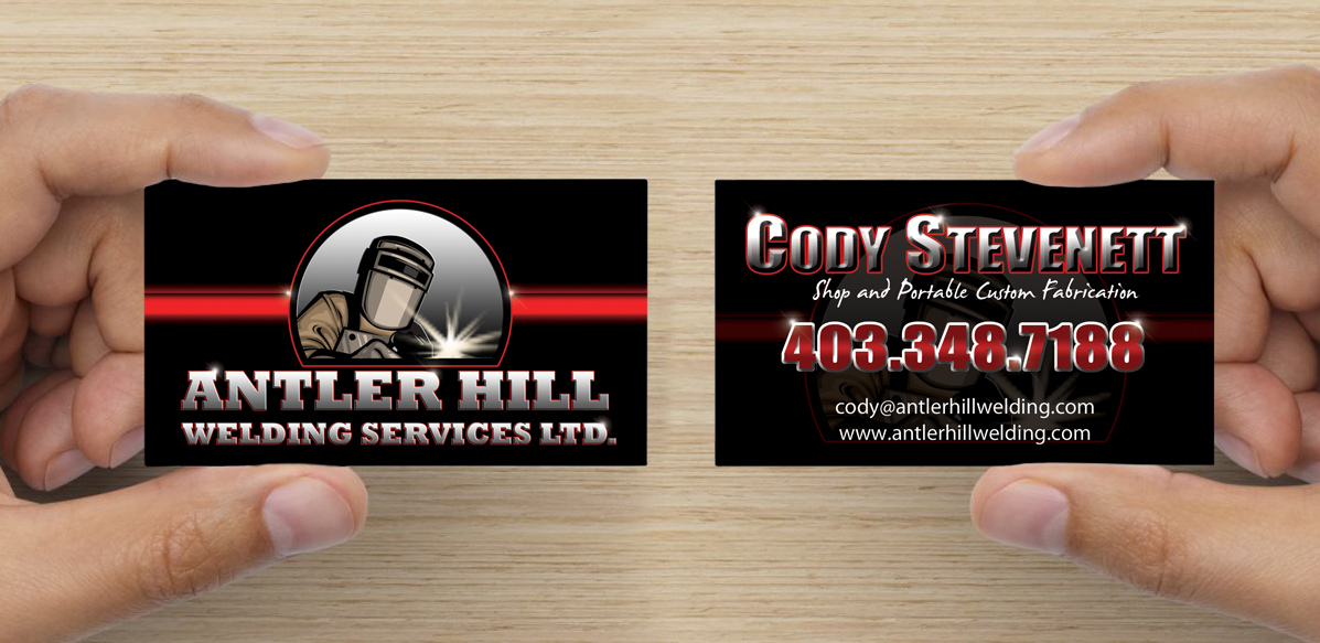 AntlerHillWelding_Branding_Business_Cards_Arktos_Graphics