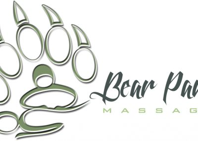Bear Paws Massage – Logo Design