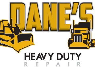 Dane's Heavy Duty Repair – Logo Design