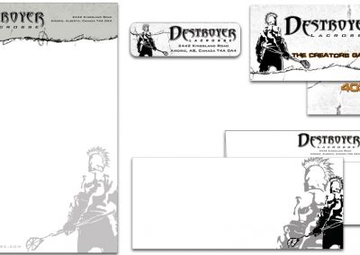 Destroyer Lacrosse – Custom Stationery
