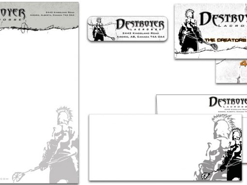 Destroyer Lacrosse – Custom Stationery