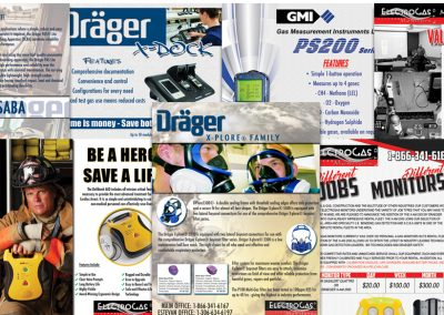 Electrogas Monitors – Flyer Designs