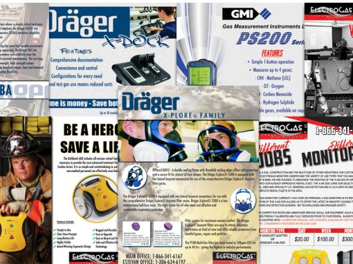 Electrogas Monitors – Flyer Designs