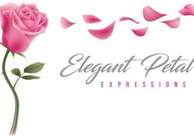 Elegant Petal Expressions – Logo Design