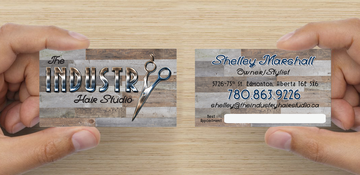 The_Inudstry_Hair_Studio_Branding_Business_Cards_Arktos_Graphics