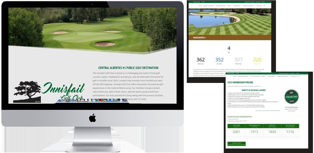 Innisfail_Golf_Club_Website_Design_Arktos_Graphics