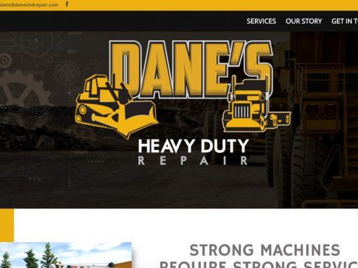 Dane's Heavy Duty Repairs – Website Design