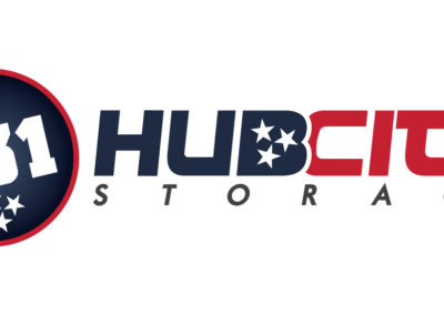 731 Hub City Storage – Logo Design