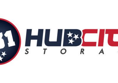 731 Hub City Storage – Logo Design