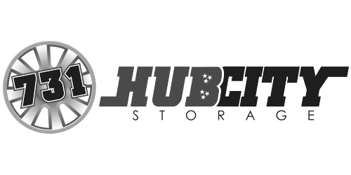 731 Hub City Storage - Logo Design - Red Deer, AB
