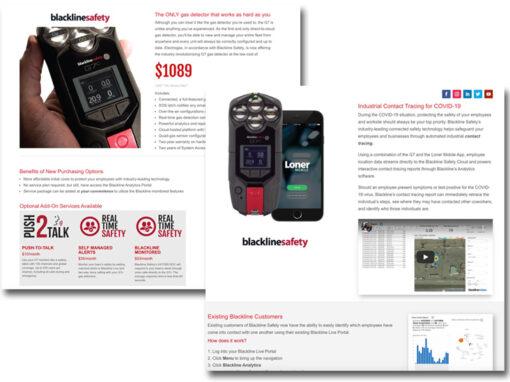 Landing Page Design – Electrogas