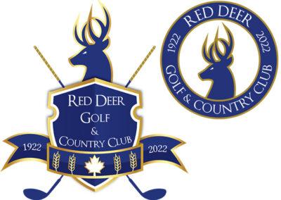 Logo Design – Red Deer Golf & Country Club