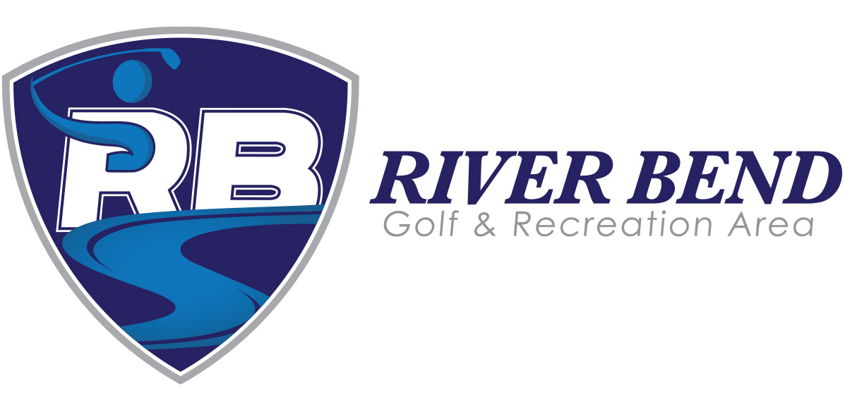 Logo - Riverbend Golf Course - Arktos Graphics - Red Deer, Alberta