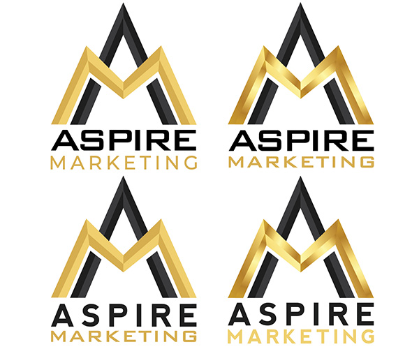 Logo Design - Aspire Marketing - Arktos Graphics - Red Deer, Alberta